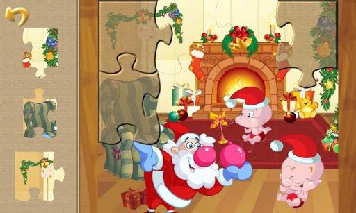 Christmas Puzzle: Santa Pals