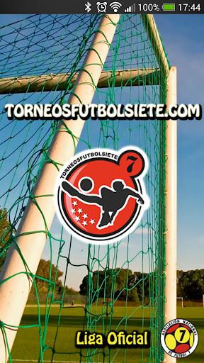 Torneos Fútbol Siete