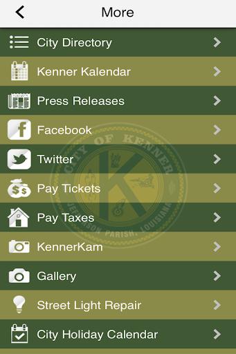 【免費旅遊App】City Of Kenner-APP點子