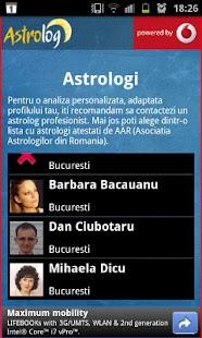 AstroLog– captură de ecran miniatură