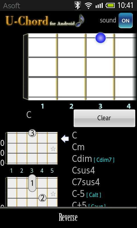 UChord  (Ukulele Chord Finder) - screenshot