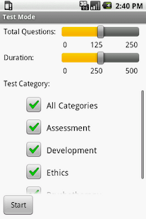 Social Work Clinical Exam Prep - screenshot thumbnail