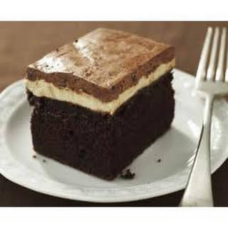 Chocolate-Peanut Butter Cake.