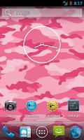 Screenshot of Pink Camo Live Wallpaper Free