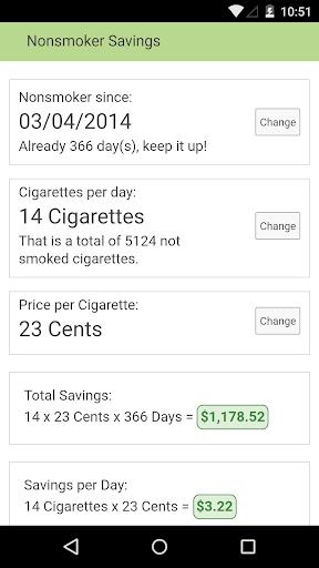 Nonsmoker Savings