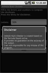 Vehicle Num Checker