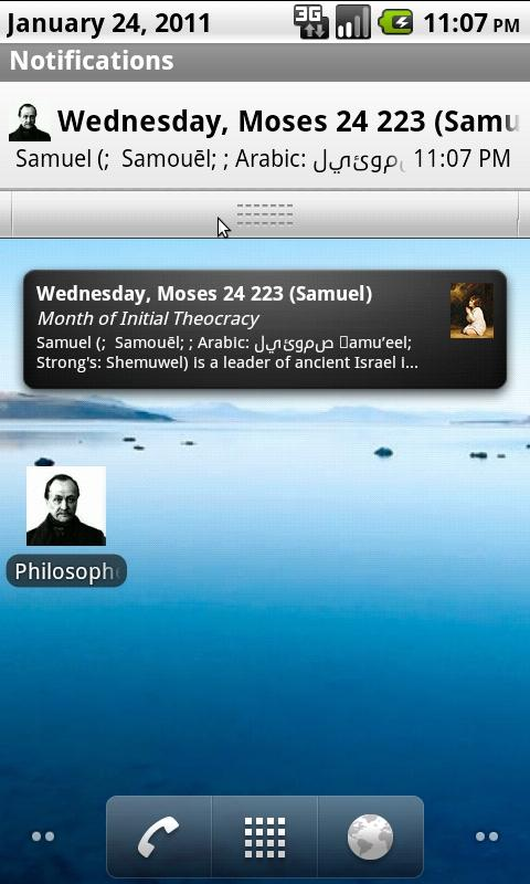 Philosopher's Calendar- screenshot