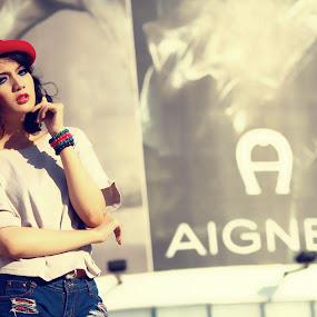 AIGNER by Adhetja Atmadja Wardana - People Portraits of Women ( fashion, model, girl, female, aigner )