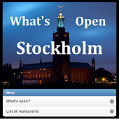 What's Open in Stockholm