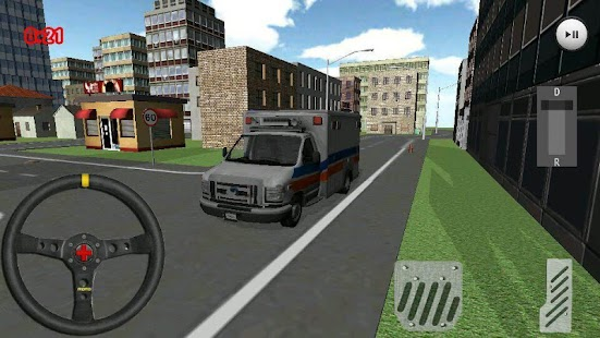 Ambulance Simulator- screenshot thumbnail