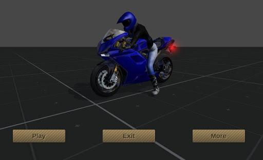 Motosiklet Simülasyonu 3D