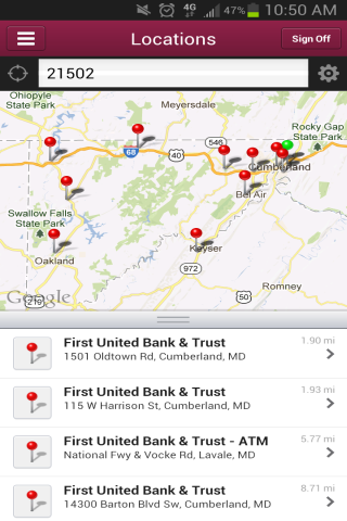 My Bank First United Mobile - screenshot