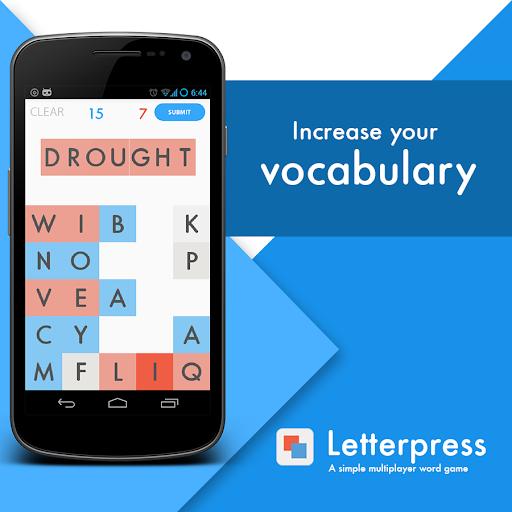 Letterpress - simple word game