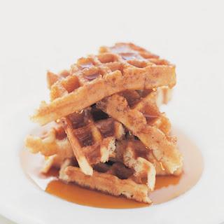 Pumpkin Protein Waffles (Dairy-Free)