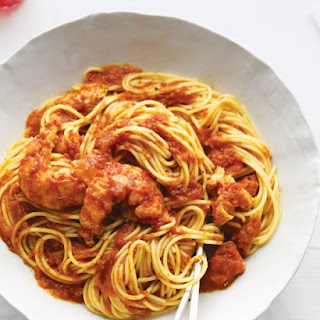 Spaghetti with Lobster Fra Diavolo.