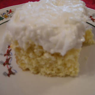 Daddy's Coconut Cake.