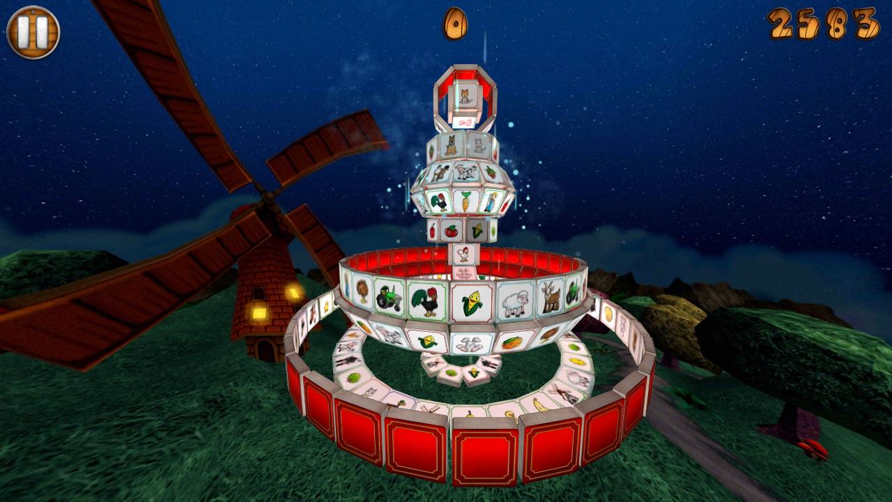 Barnyard Mahjong 2 Free- screenshot