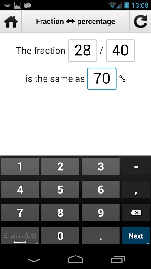 3 way calculator percent app