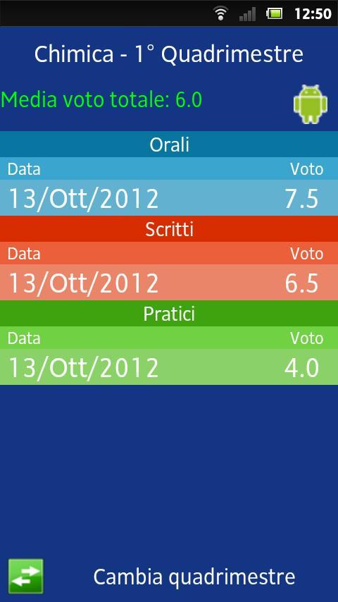App Scuola Pro - screenshot
