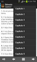 Screenshot of Santa Biblia Reina Valera