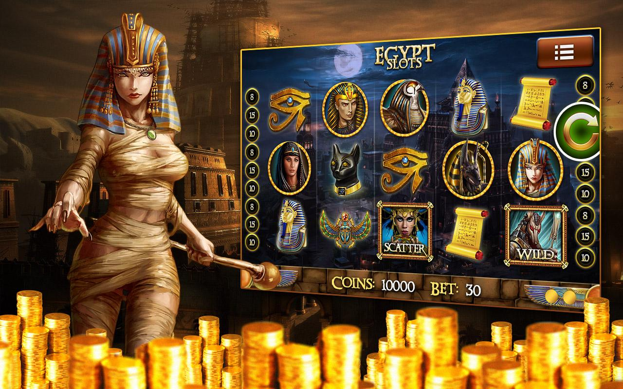 slots games pharaoh