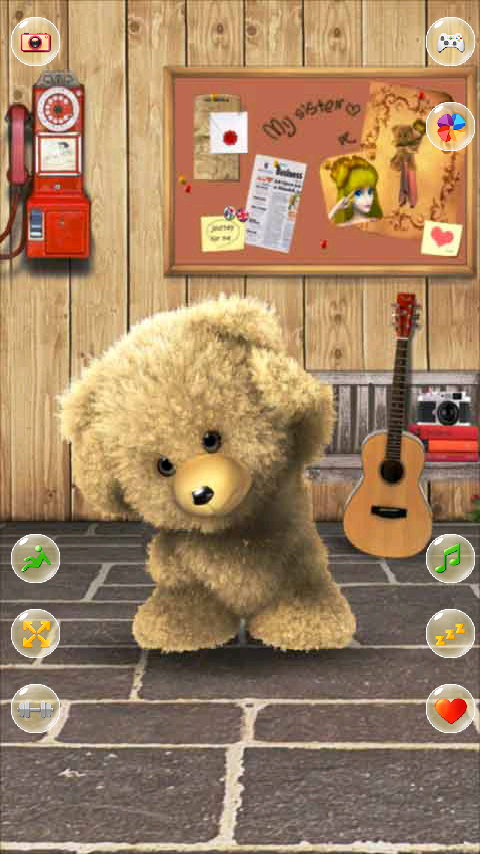 Talking Teddy Bear- screenshot