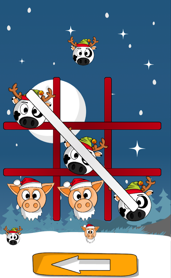 Pig Cow Toe Christmas- screenshot