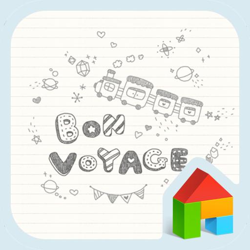 bon voyage 도돌런처 테마 LOGO-APP點子