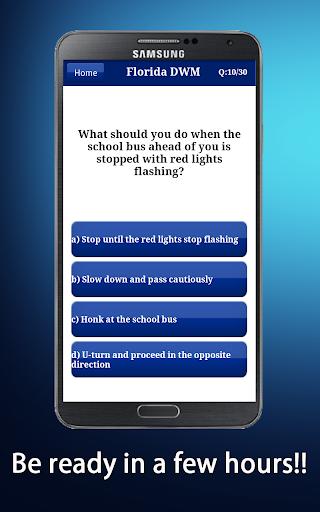 【免費教育App】Florida DMV Test 2015-APP點子
