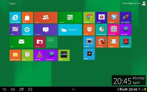 Windows 8 Metro Launcher Pro - screenshot thumbnail