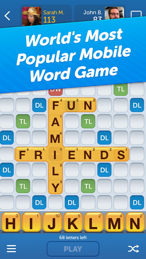words with friends screenshot. Black Bedroom Furniture Sets. Home Design Ideas