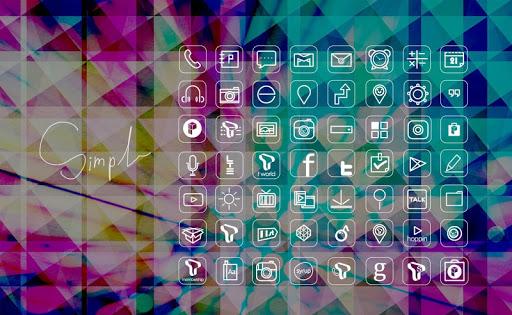 스타일리쉬 크리스탈 확장팩 런처플래닛 테마