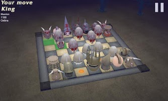 Screenshot of NightChess: Zombie Lord 3D