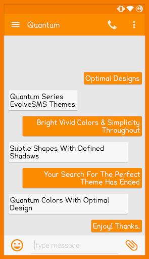 EvolveSMS - Quantum Orange