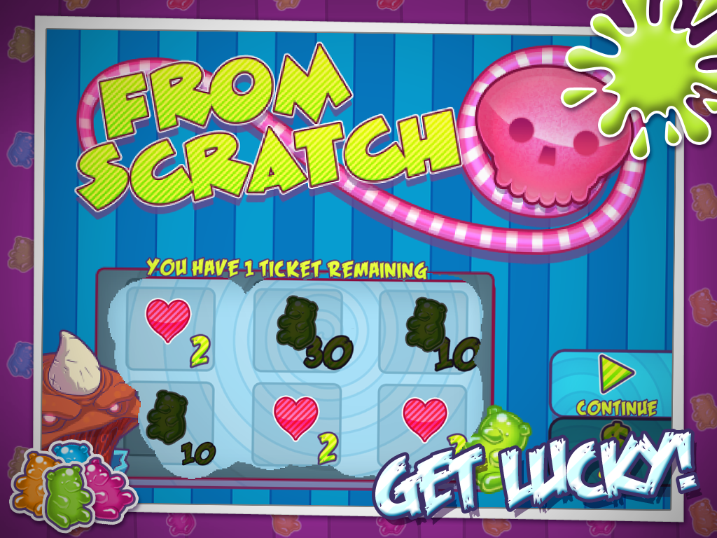 Zombie Cupcake Attack- screenshot