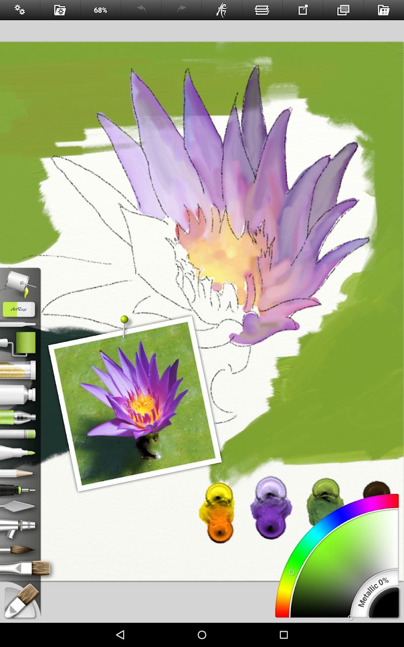 ArtRage: Draw, Paint, Create Screenshot 9