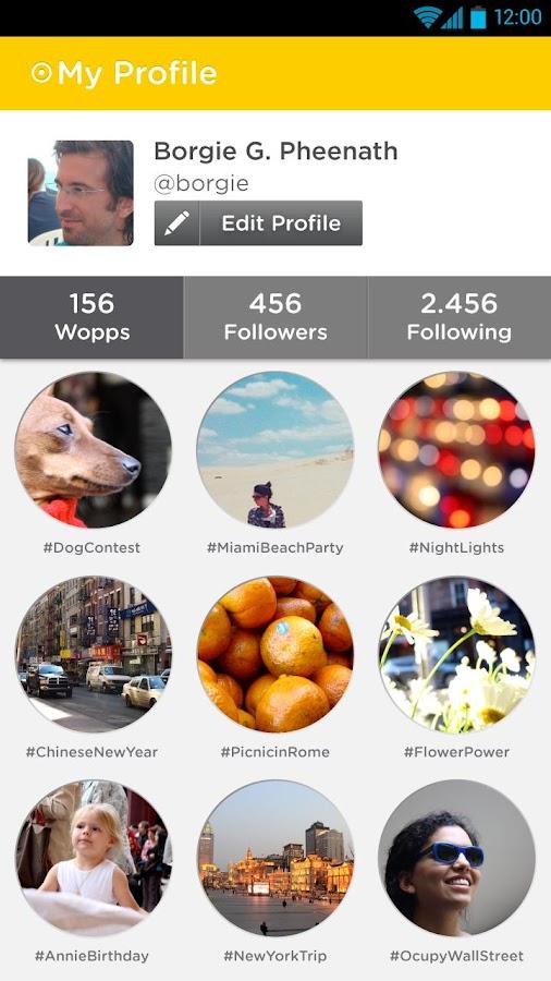 Wopp - screenshot