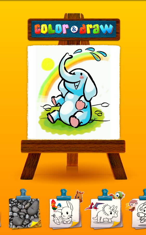 Color & Draw: Super Artist Ed.- screenshot