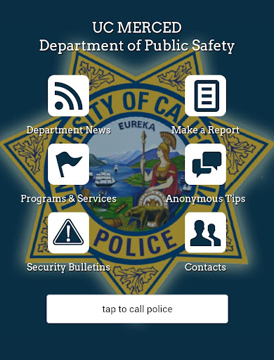 【免費工具App】UC Merced Police-APP點子