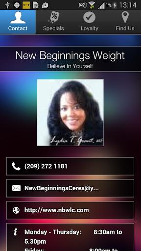 New Beginnings Weight