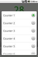 Screenshot of Tally Counter