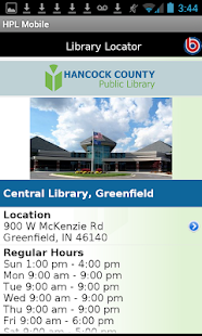 Hancock County Public Library- screenshot thumbnail