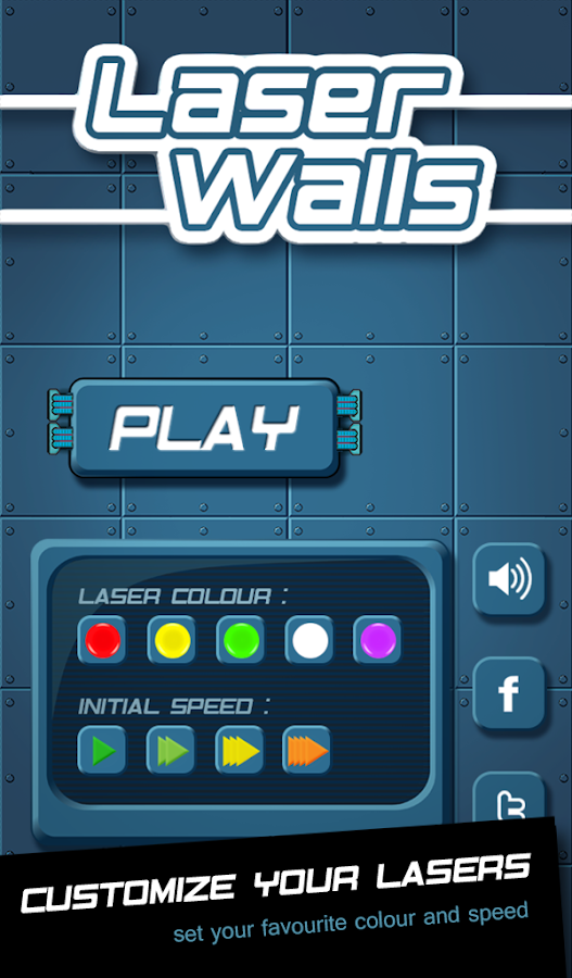 Laser Walls- screenshot