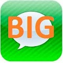 BIG SMS ( Display BIG text ) icon