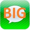 BIG SMS ( Display BIG text )