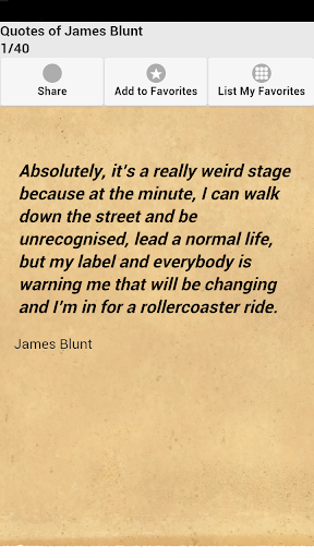 Quotes of James Blunt