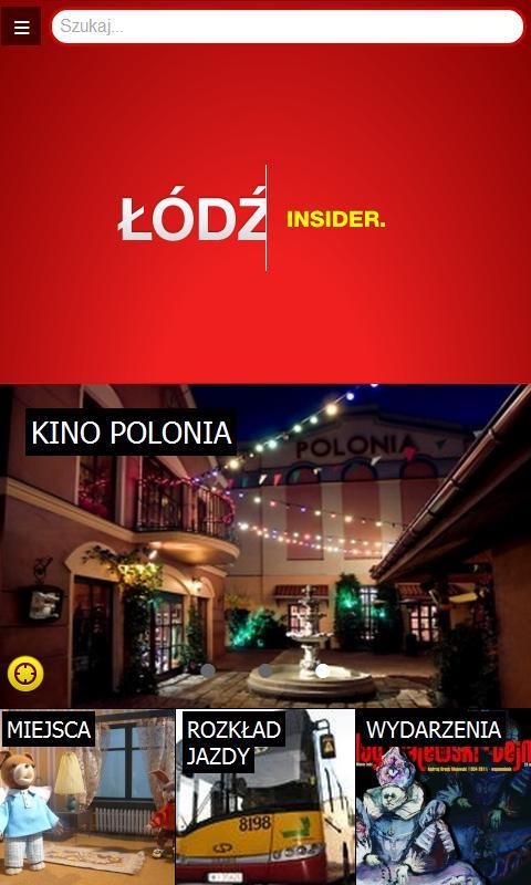 Lodz Insider- screenshot