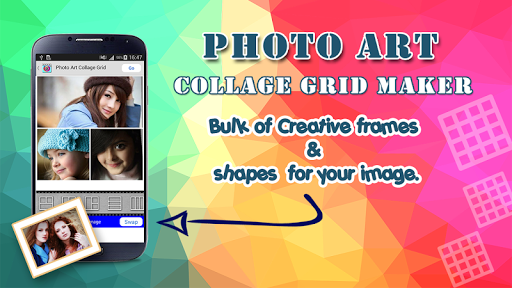 Photo Art Collage Grid Maker