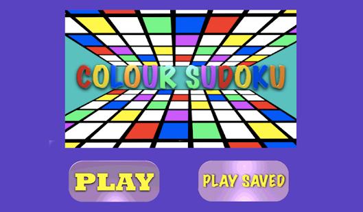 Colour Sudoku - screenshot thumbnail