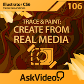 Illustrator CS6 Trace & Paint